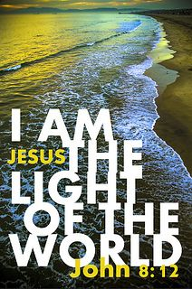 """Jesus said """" I am the light of the world""""  John 8:12.  If you live in darkness the only way you can live in the light is by coming to the light, our Lord Jesus.  www.forgivenphoto..."""