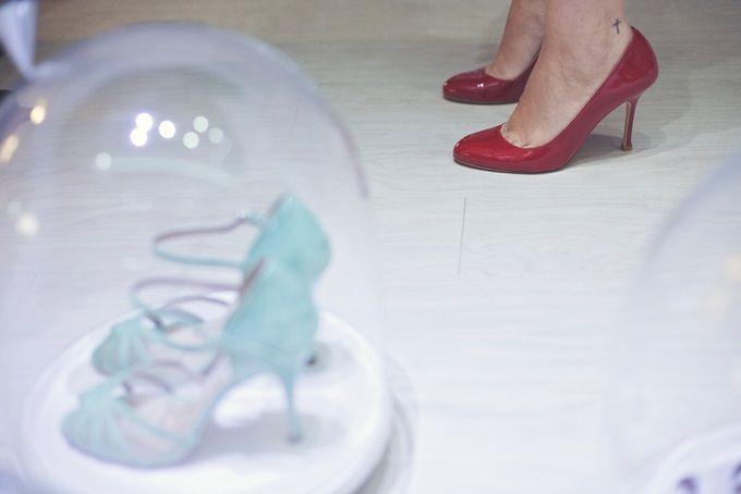 Νυφικά χειροποίητα παπούτσια by Femme Fanatique   The Wedding Tales Blog