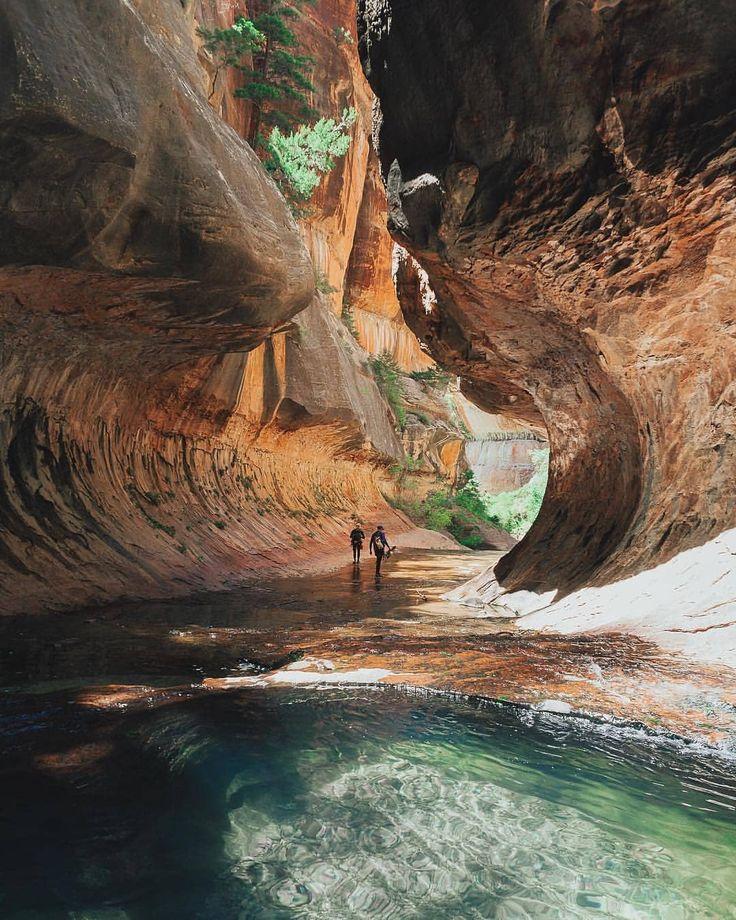 The subway Zion National Park Utah