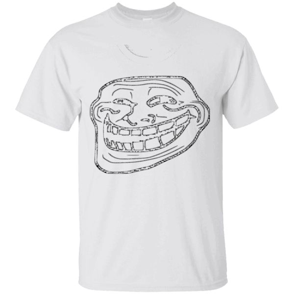 Would you want to wear this shirt?  These are selling out fast!  Tag someone you think might relate to this.   Troll face Meme T-shirt   https://sudokutee.com/product/troll-face-meme-t-shirt/  #TrollfaceMemeTshirt  #Trollfaceshirt #face #Meme #T #shirt # #