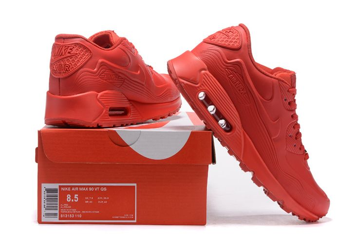 Alle Rood Nike Air Max 90 VT QS Winkels 813153-110