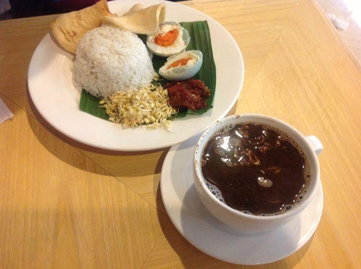 Rawon rice, Indonesian culinary