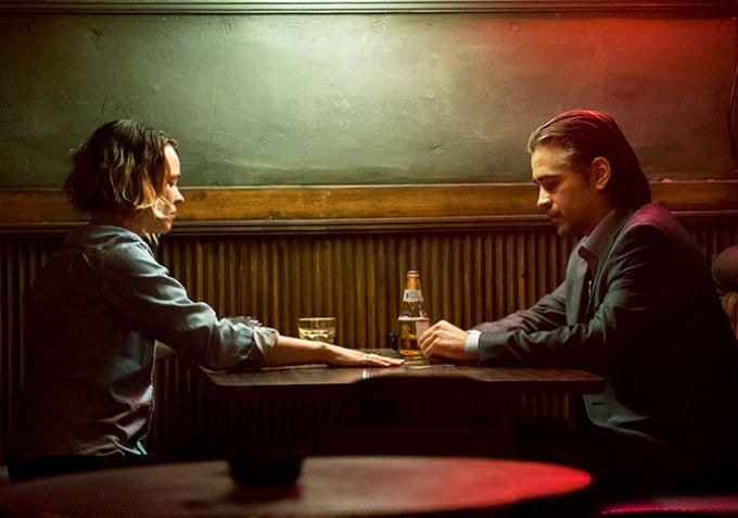 "True Detective, Season 2, Episode 5 | Ani meets up with Ray at at Black Rose Cocktails, Frank and Ray's dive, and guess who's back on the mic?  Correct, you totally guessed it. Ani, meanwhile, has turned full Velcoro, drinking, smoking, getting the shakes. She wants to pull Ray back in, she's pissed that no one cares about the missing girl, the people ""shot to shit,"" the pollution in the billion-dollar valley."