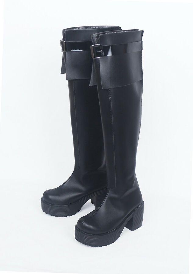 853ce42d5b68 Game Azur Lane Erebus Monitor Cosplay Boots Shoes Custom Made #Affiliate  #Lane#Erebus