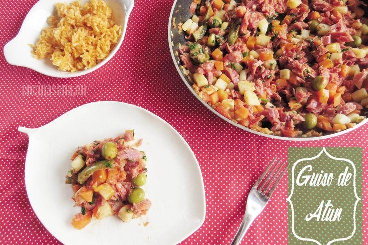 Guiso de Atún Ahumado: Receta rápida y simple on Cocina Sana