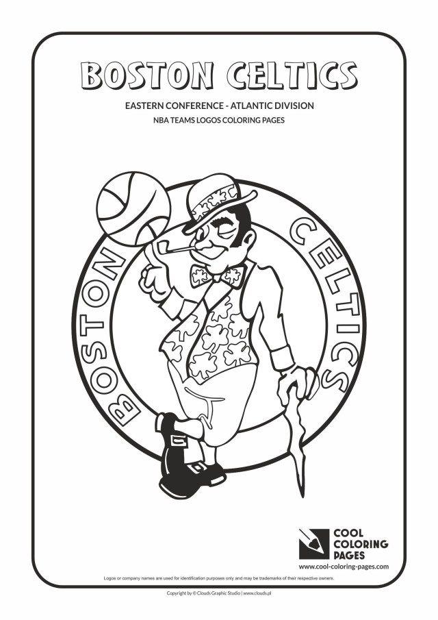 Boston Celtics Logo Black And White