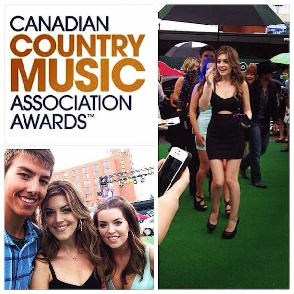 One More Girl attends CCMA Awards