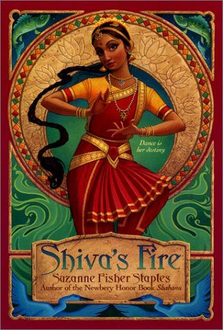 Shiva's Fire ~ Suzanne Fisher Staples seems to be in a similar style to Tiger's Curse because of its heavy emphasis on Hinduism and mythology, but this text comes from the perspective of an Indian girl instead of an American girl. There's a love story and fantastical elements in this text as well, but the mythology focuses on different elements of Hinduism.