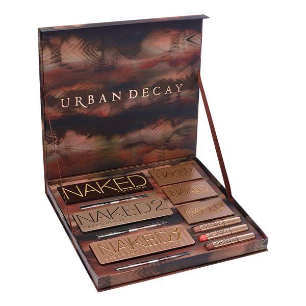 Urban Decay sort un coffret baptisé Naked Vault comprenant les 3 célèbres palettes d'ombres à paupières Naked.