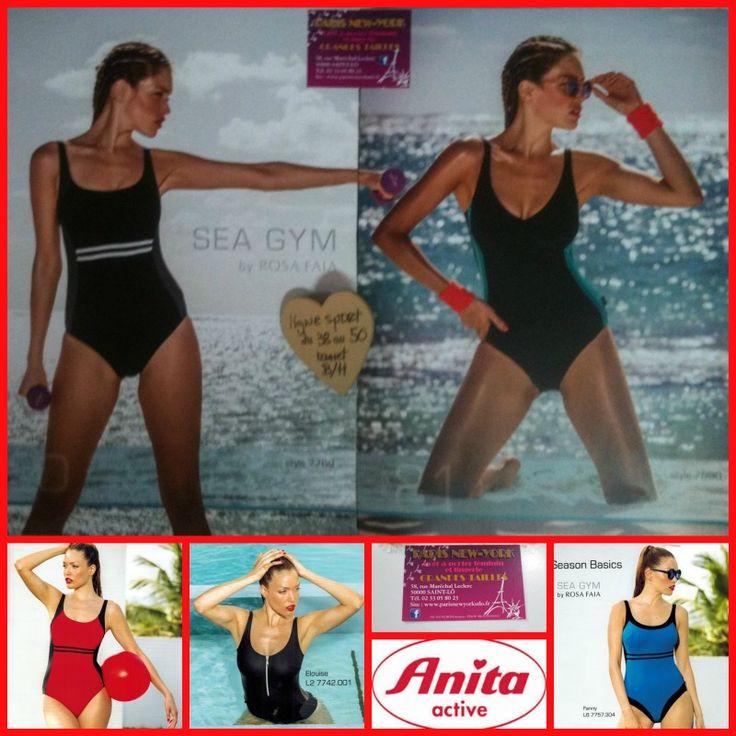pour les fan d'aquagym maillot de bain ANITA ACTIVE spécial piscine chez PARIS NEW-YORK à SAINT-LO