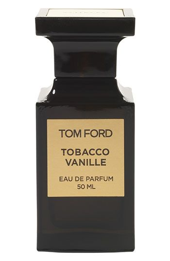 Tom Ford Private Blend 'Tobacco Vanille' Eau de Parfum. Holy wow... expensive but really intense. It rubbed off on me from holding hands with Josh who sampled it at the store. It's sexy as hell and unisex.
