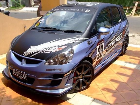custom Honda Jazz