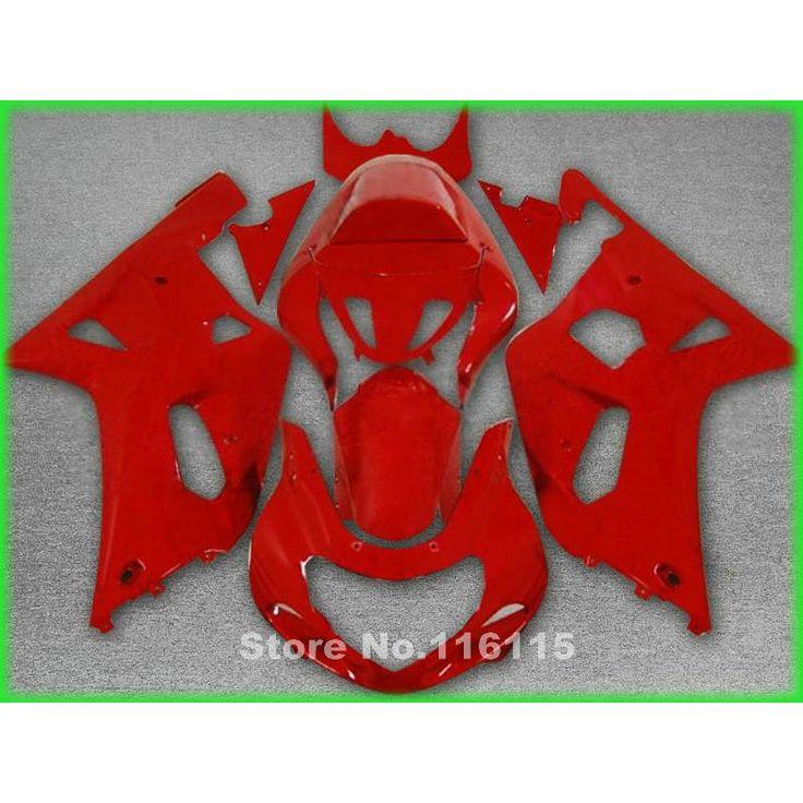 330.28$  Watch more here  - fairing kit for SUZUKI GSXR600 GSXR750 K1 2001 2002 2003 GSXR 600 750 01 02 03 all red motobike fairings set X530