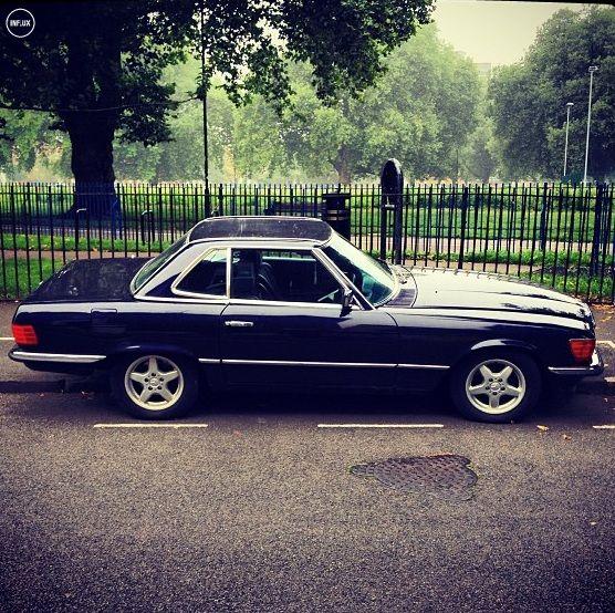 Mercedes SL450 #Influxstreetspot