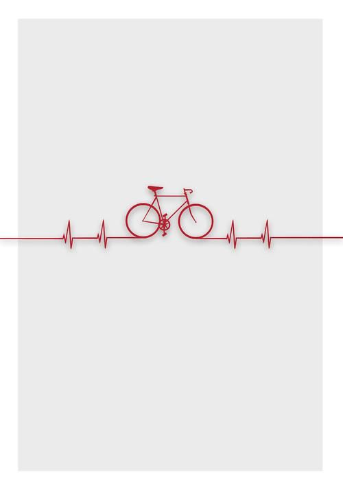 Biking...it's good for your heart :)