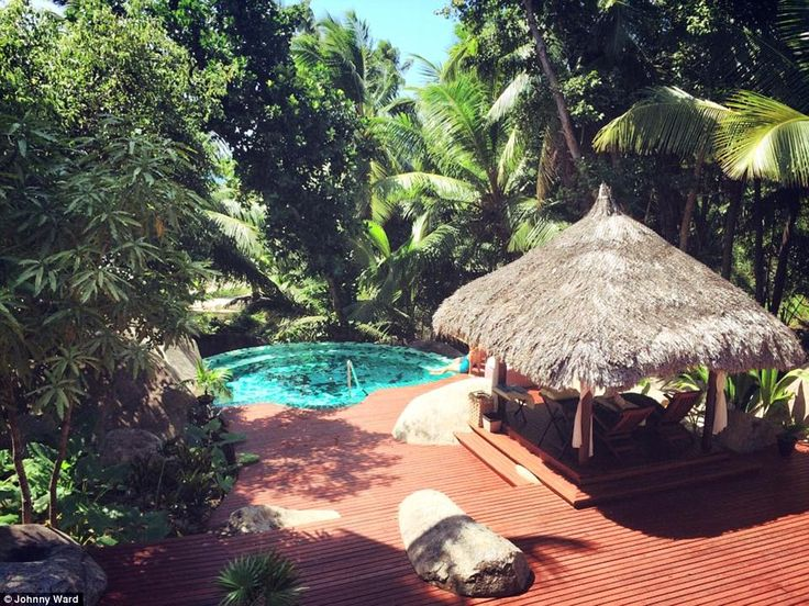 Spectacular scenery the Silhouette Spa at Hilton Seychelles Labriz Resort & Spa:From feed...