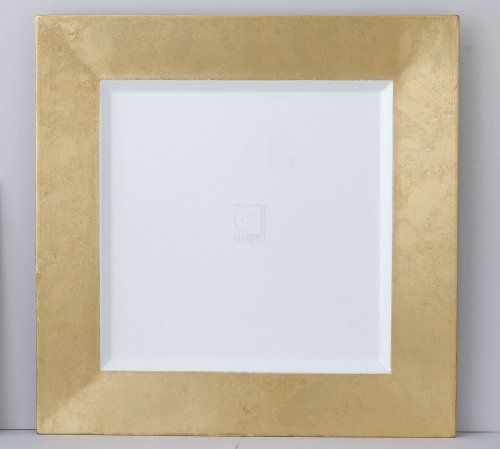 Square Gold/White Chargers, Set of 4 by Elegance Silver. $32.34. SET OF 4. Square Gold/White Chargers, Set of 4. Save 52%!