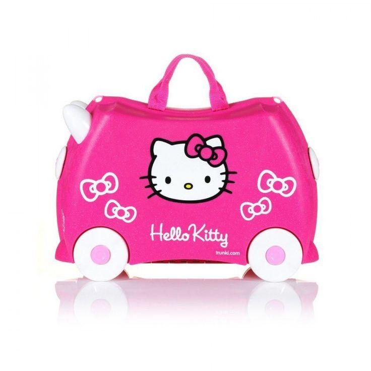 john-andy.com | Trunki Hello Kitty Παιδική Βαλίτσα Ταξιδίου