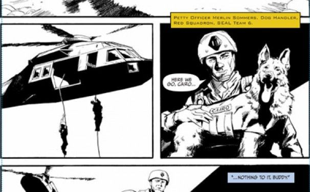 Comic book version of bin Laden raid to be released - Checkpoint Washington - The Washington Post