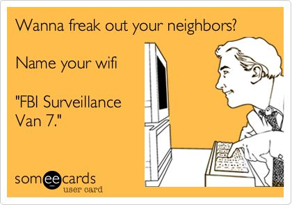 Should I do this to my new neighbors?