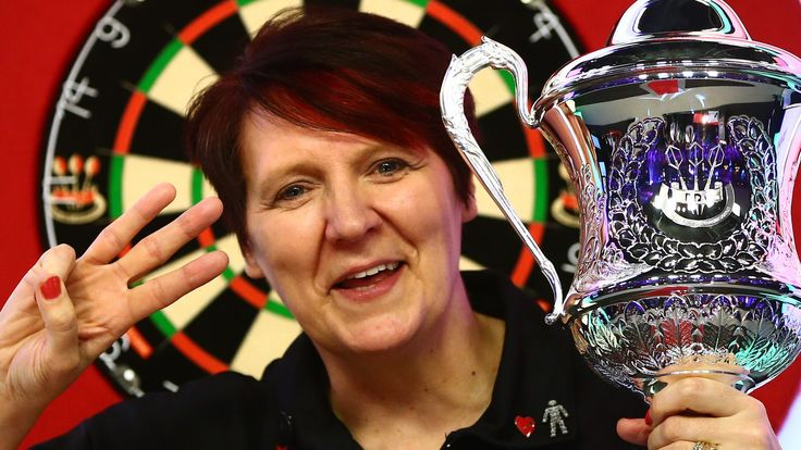 England's Lisa Ashton wins her fourth BDO world title with a 3-1 final victory over Russian Anastasia Dobromyslova.