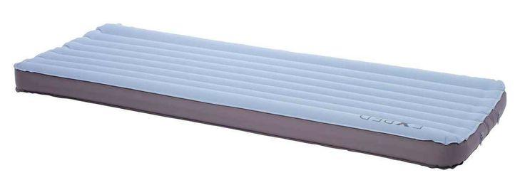 Vous cherchez un couchage XXL ? Adoptez le matelas gonflable AirMat 12 LXW ! 12 cm d'épaisseur !