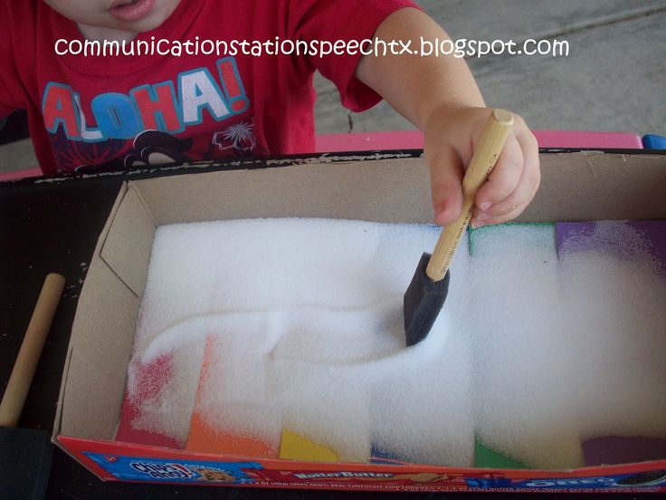 Communication Station: Speech Therapy PLLC: 12 Communication Activities to do with a Rainbow Salt Tray!