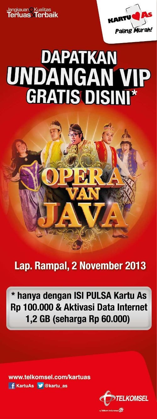 Opera Van Java Roadshow Malang  http://bit.ly/17u7Ado