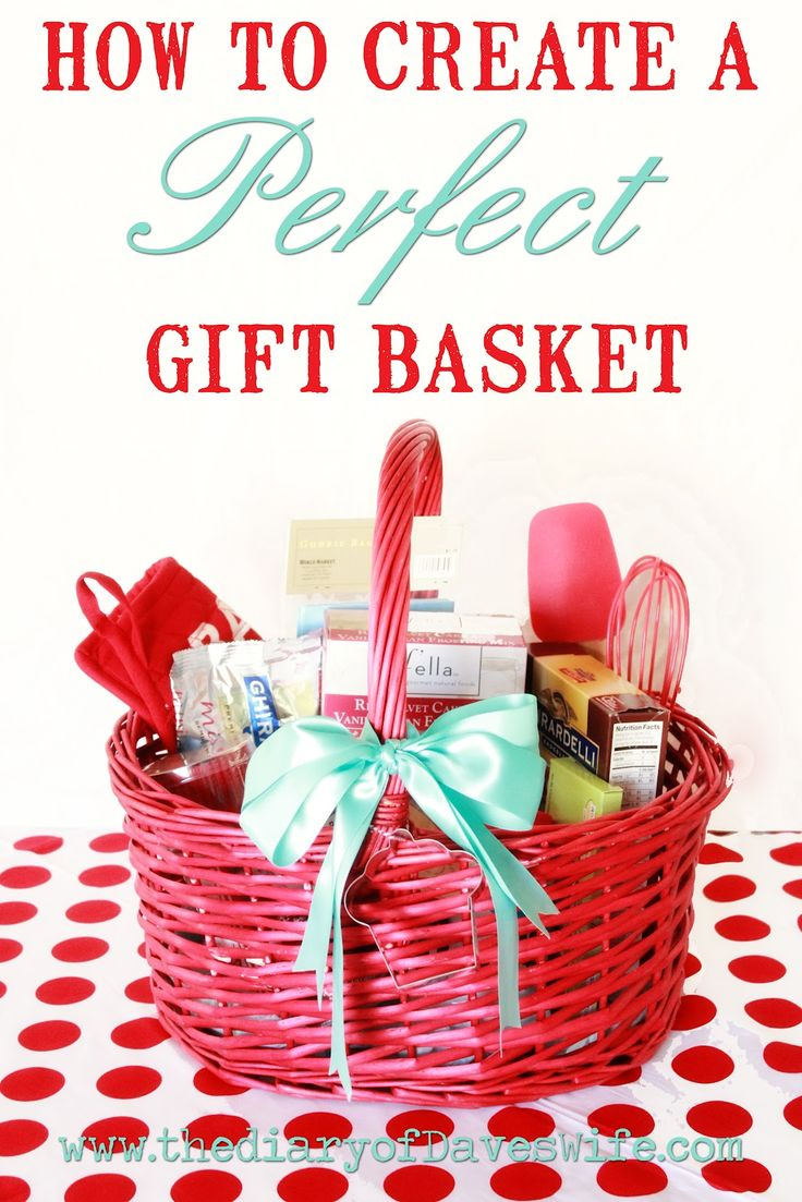 Love these ideas .... How to Create The Perfect Gift Basket