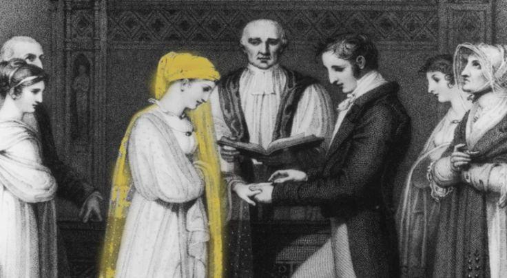 A origem do véu da noiva