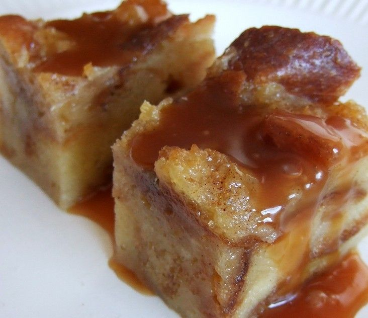 Whiskey Sauce Bread Pudding - Simple and DELICIOUS!