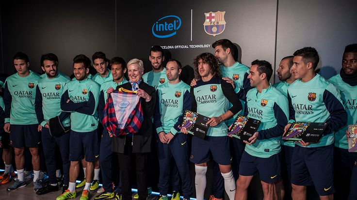 FC Barcelona's latest kit has Intel inside - literally | Chipmaker goes undercover as part of European footballing giant's new sponsorship deal. Buying advice from the leading technology site