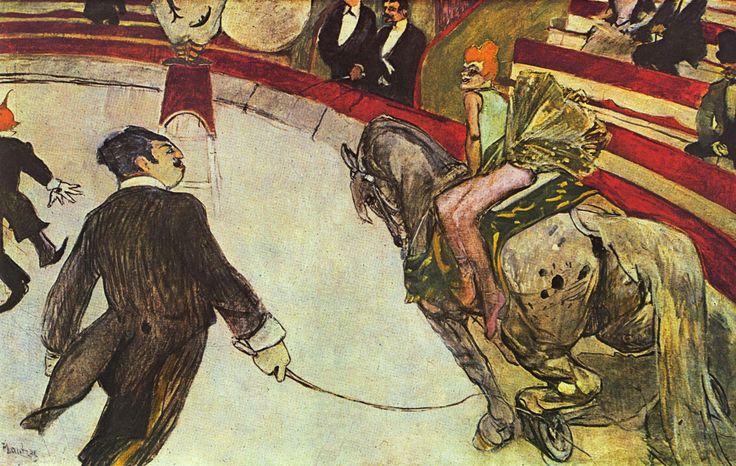 Henri de Toulouse-Lautrec, Al circo Fernando: cavallerizza, 1887-1888