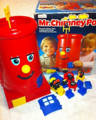 Vintage Mr Chimney Pot Playhouse by Bluebird Toys 1986 Retro Rare Boxed in Toys & Games | eBay