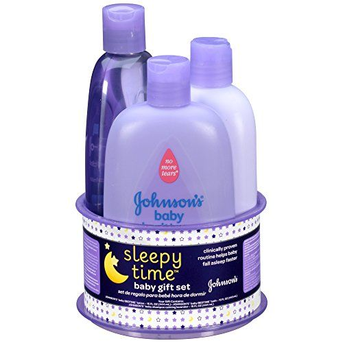 Johnson's Sleepy Time Baby Gift Set, 3 Items. For product info go to: https://all4babies.co.business/johnsons-sleepy-time-baby-gift-set-3-items/