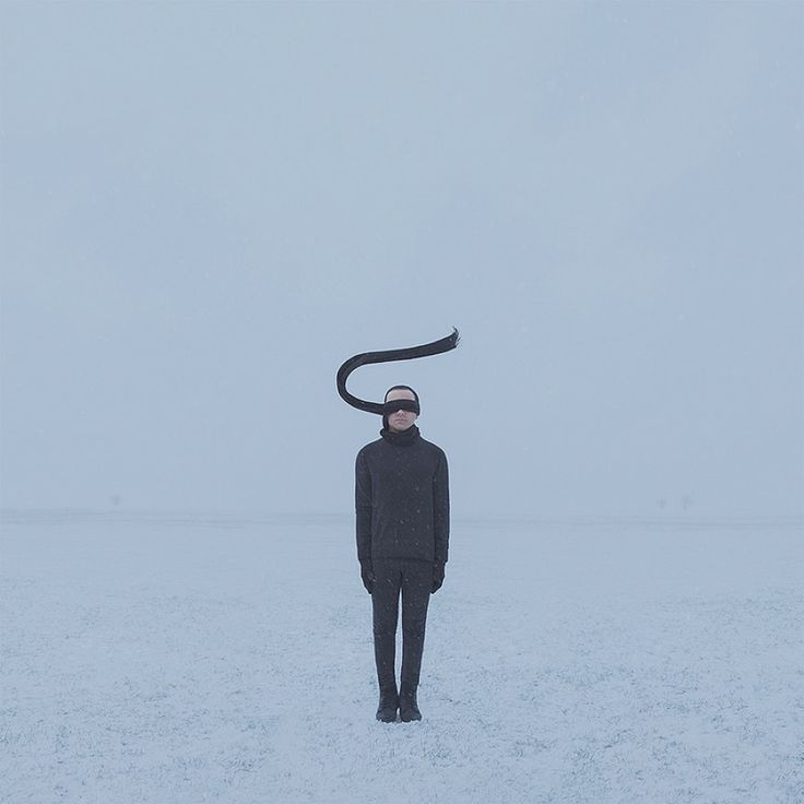 Surreal Melancholic Photographs by Gabriel Isak