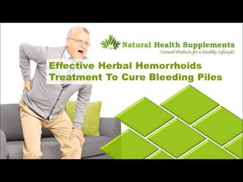 Dear friends in this video we are going to discuss about effective herbal hemorrhoids treatment to cure bleeding piles. You can find more details about Pilesgon capsules at http://www.naturalhealth-supplements.com/piles-treatment.htm