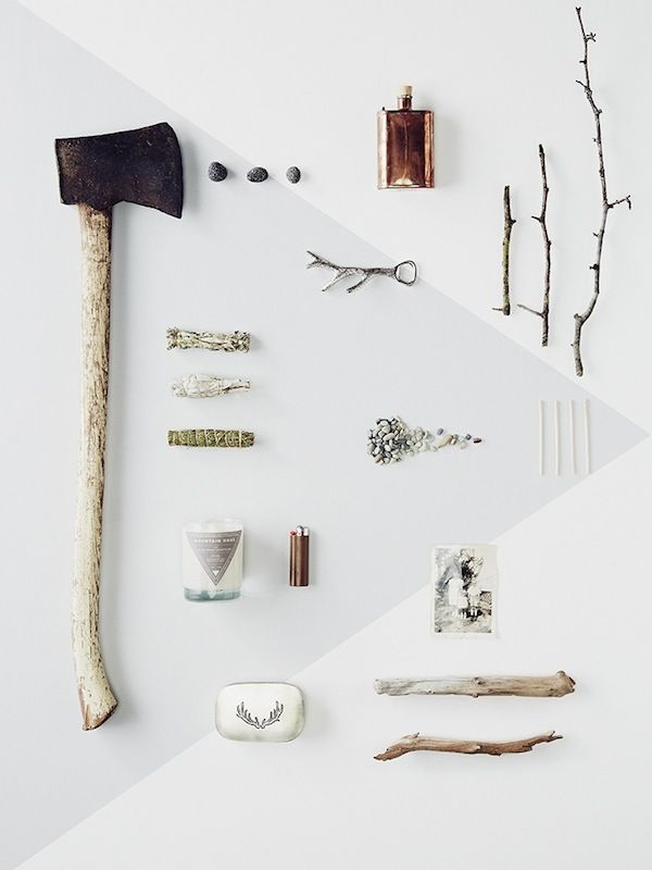 Creative Mood Boards Filled With Objects That Describe Different Smells - DesignTAXI.com