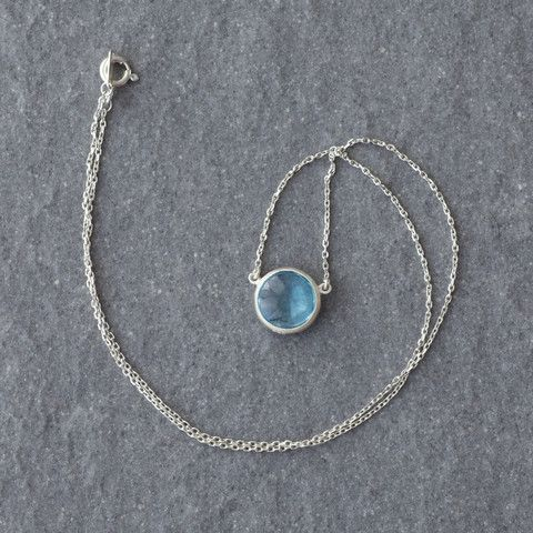 Mist Topaz Necklace