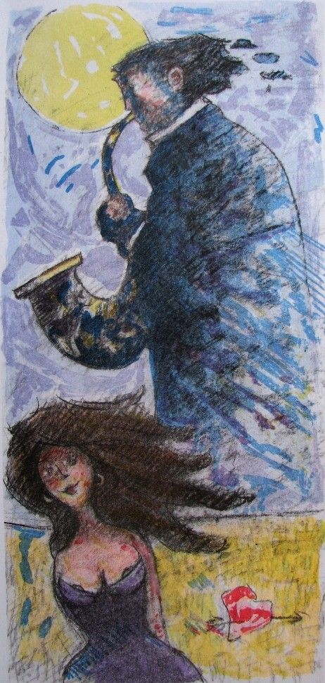 Donne in blues, Giampaolo Talani, http://www.galleria-galp.it/shop/index.php/artisti/giampaolo-talani/donne-in-blues.html