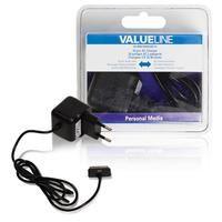 Valueline 30-pins AC-lader 30-pins dock male - AC-huisaansluiting 100 m zwart (VLMB39892B10)  Deze lader is geschikt voor het opladen van verschillende soorten apparaten van Apple met een 30-pins aansluiting. 30-pins dock AC-lader. Geschikt voor: - iPod touch 4e generatie 8GB 32GB 64GB - iPod nano 6e generatie 8GB 16GB - iPhone 3Gs 8GB 16GB 32GB - iPhone 4 8GB 16GB 32GB - iPhone 4s 16GB 32GB 64GB - iPad 16GB 32GB 64GB - iPad 2 16GB 32GB 64GB - iPad 3de generatie  EUR 10.89  Meer informatie
