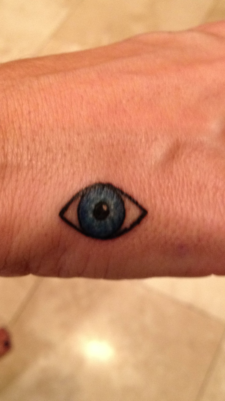 Evil eye This will be my first tattoo.  Just cant decide where...