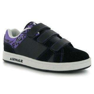 -Airwalk Skeleton Childrens Skate Shoes