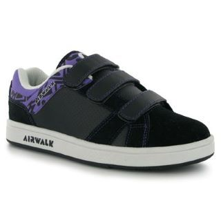 -Airwalk Skeleton Childrens Skate Shoes