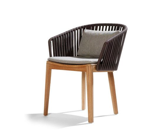 Mood Dining Chair by Tribu | Garden chairs