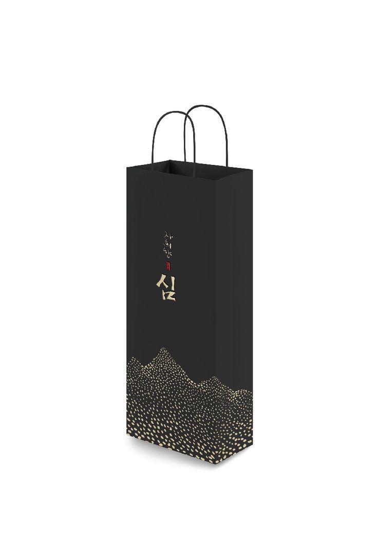 korean traditional wine brand identity design by tomorrow people