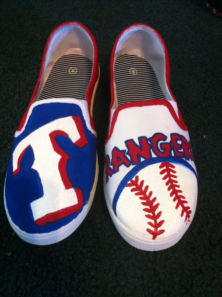 Texas rangers shoes