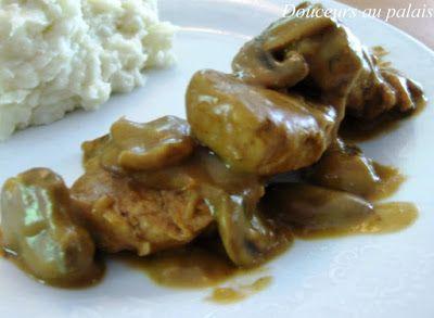 Douceurs au palais: Filet de porc aux champignons