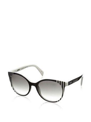 60% OFF Fendi Women's 5344 Sunglasses, Black/White