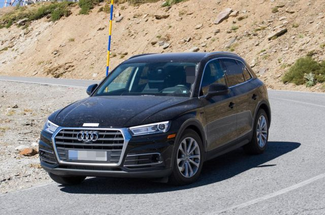 2019 Audi Q5 Hybrid Has Been Spotted Testing In The Us Audi Q5 Audi New Suv